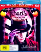 Charlie and the Chocolate Factory (2005) (Blu-Ray/DVD)