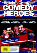 Britain's Greatest Comedy Heroes Ronnie Barker, Sid James, Leonard Rossitter, Kenneth Williams