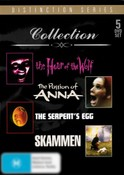 Ingar Bergman Collection (The Hour of the Wolf/The Pasion of Anna/The Serpents Egg/Skammen) (5 Discs)
