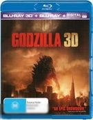 Godzilla 2014 (3D Blu-ray / Blu-ray)