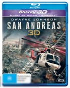 San Andreas (2D/3D Blu-ray/UV Lenticular)
