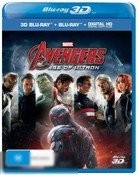 Avengers: Age of Ultron (3D/Blu-ray/Digital Copy)