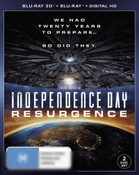 Independence Day: Resurgence (3D Blu-ray/Blu-ray/Digital Copy)