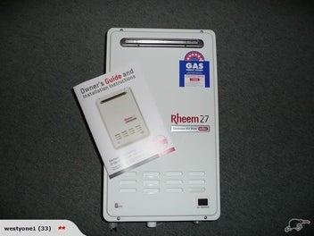 Rheem 27lt Hot Water Unit