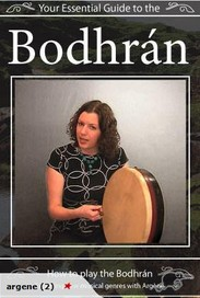 Bodhran Lesson 1 - How To Hold And The Basic Stroke - YouTube