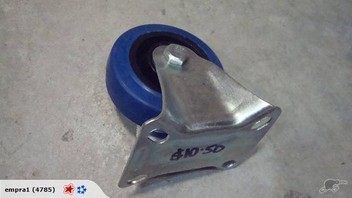 """3"""" Blue Fixed Casters"""