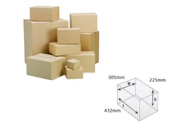 Cardboard Boxes/Cartons - (50 units) SIZE 20
