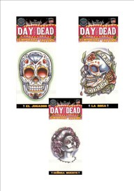 ~Day Of The Dead Temp Tattoo~ 3 To Select From ~