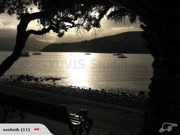 "Photo ""Akaroa at night"" professional"
