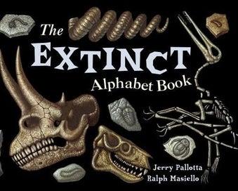 The Extinct Alphabet Book Jerry Pallotta NEW
