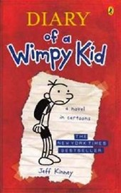 Diary of a Wimpy Kid - A Novel in Cartoons