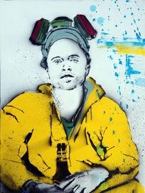 Jesse Pinkman (Breaking Bad) Art Print -NZ Artist