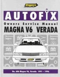 GM Owners Manual Magna V6 Verada 1991-96
