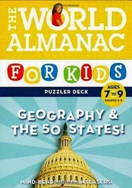 The World Almanac for Kids Puzzler Deck: Geography