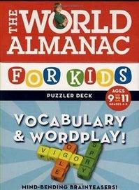 World Almanac Puzzler Deck: Vocabulary and Wordpla