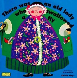 There Was An Old Lady Who Swallowed A Fly (Board B