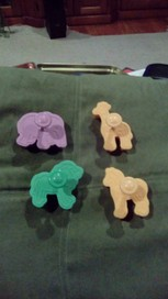 ICING CUT OUT ANIMAL SHAPES