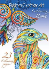 Adult Colouring Book- 23 pages - NZ/Pacifica style