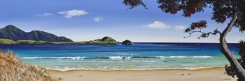 Whangarei Heads by Linelle Stacey HGE CANVAS PRINT