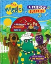 The Wiggles Book & CD - A Friendly Surprise