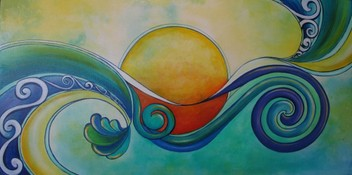 Surf Sun by Reina Cottier