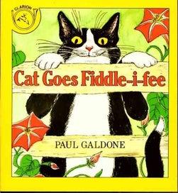 Cat Goes Fiddle-I-Fee Paul Galdone NEW