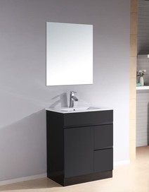Vanity - Heron PVC Series N700F/900F Black 100% Water Proof