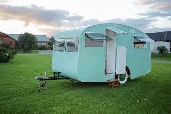 1958 Liteweight Kiwi Retro Caravan Renovated