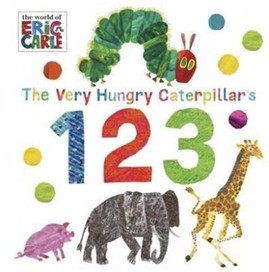 The Very Hungry Caterpillar's 123 [Board book]