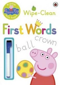 Peppa Pig: Practise with Peppa: Wipe-Clean First W