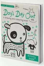 Wee Gallery Activity Books: Dog's Day Out