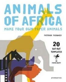 3D Paper Craft Animals of Africa