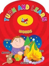 Turn and Learn Words [Board book]