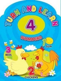 Turn and Learn Numbers [Board book]