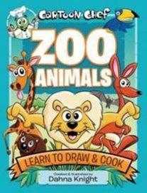 Cartoon Chef Zoo Animals
