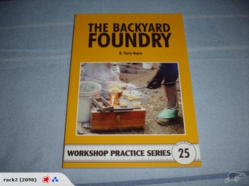 the backyard foundry book by b terry aspin trade me