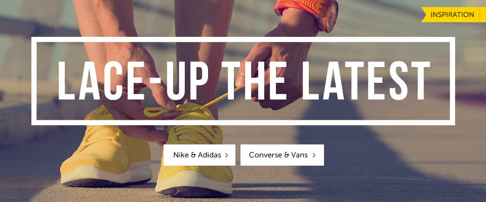 Lace-up the latest