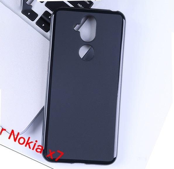 premium selection 3592f 12bc5 Nokia x7 Nokia 7.1 plus Nokia 8.1 FLEX TPU CASE - BLACK matte finish