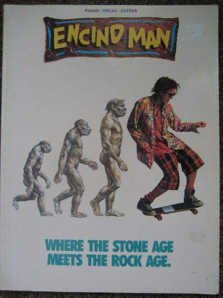 ENCINO MAN Rock SONGS MUSIC Piano Guitar BOOK