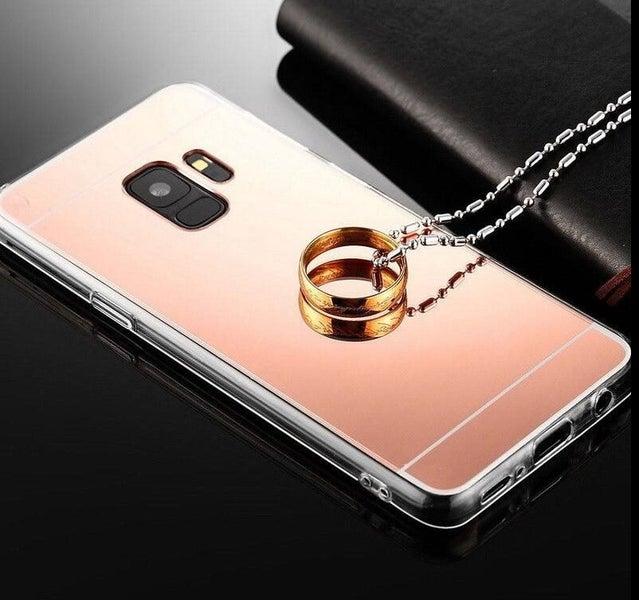 the latest 12419 bd1b6 Galaxy J2 Pro case Soft Gel TPU Mirror Case