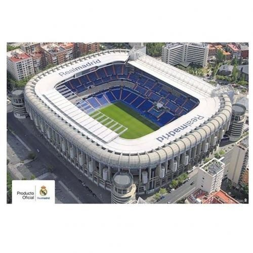 finest selection bbb74 77d8c Real Madrid F.C. Poster Stadium 4