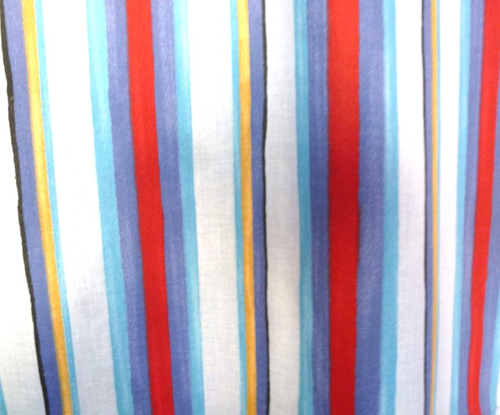 'TURBO' SMART STRIPE 100% COTTON- UK WITH B/OUT LINING CUSTOM/READYMADE  CURTAINS