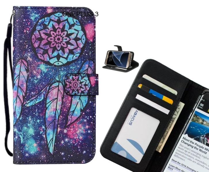 low priced df5da bb3c7 ONEPLUS 3 case leather wallet case printed ID | Trade Me