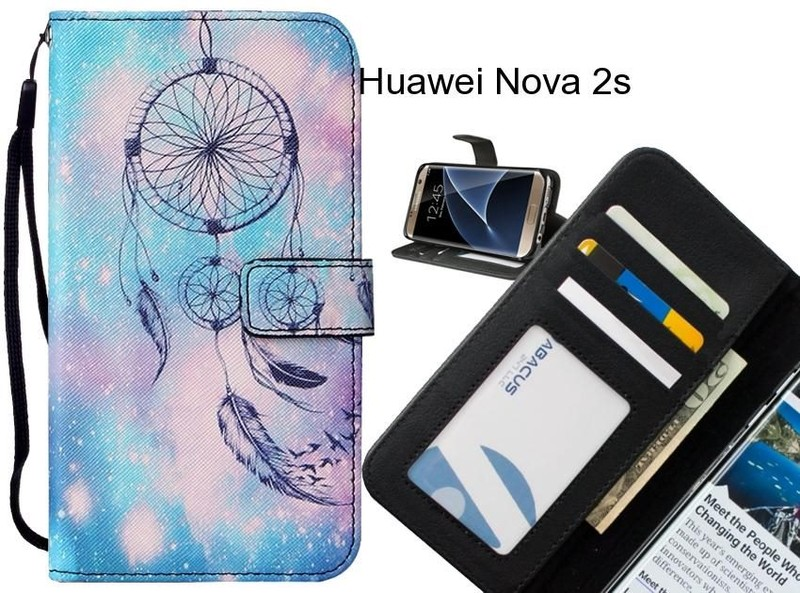 42664412dff3 Huawei Nova 2s case leather wallet case printed ID