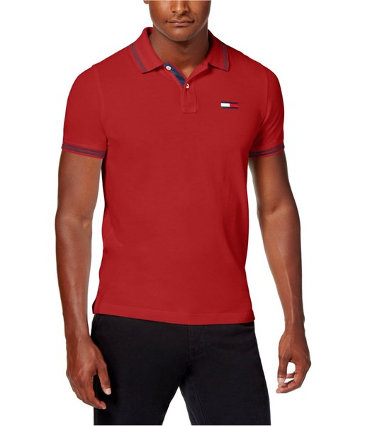 e5277f31 Tommy Hilfiger Mens Logan Rugby Polo Shirt | Trade Me