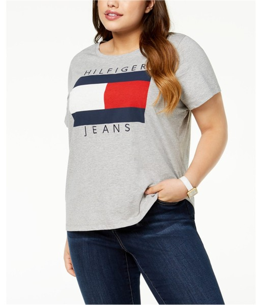 fb3e81bf0 Tommy Hilfiger Womens Plus Size Logo Graphic T-Shirt | Trade Me
