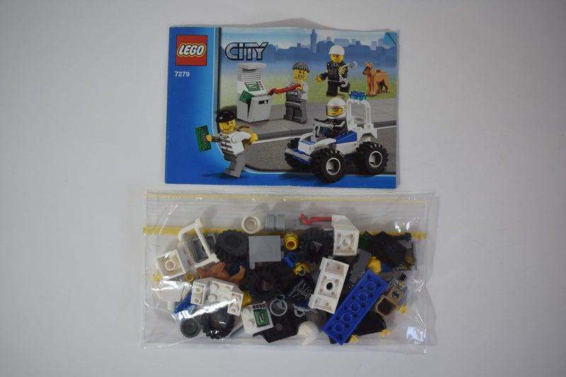 7279 Lego City Police Minifigure Collection Trade Me