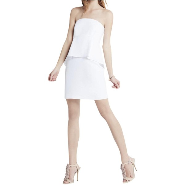 9c6d687210e BCBGeneration Womens Strapless Cocktail Dress
