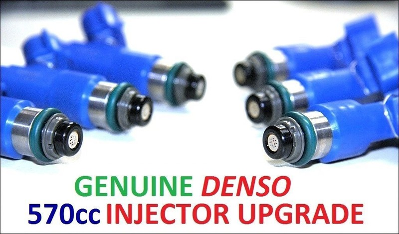 6 x 570CC Fuel Injectors for NISSAN / NISMO Z33 Z34 V35 V36