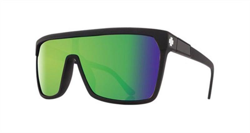 499c21605795 SPY Sunglasses Flynn Matte Black - Happy Bronze w Green Spectra ...